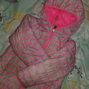 Toddler Reversible North Face Jacket
